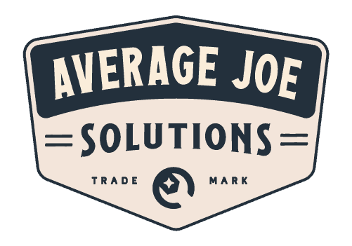 Average Joe Solutions Website Design Logo