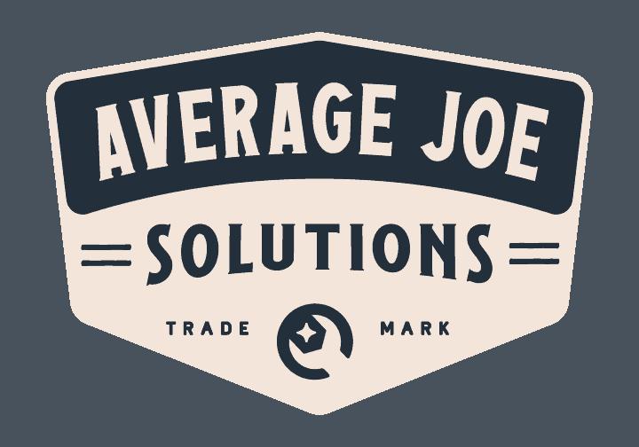 Average Joe Solutions Website Design Logo